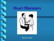 Презентация heart murmurs