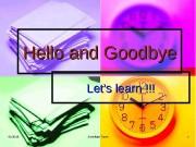Презентация hello-and-goodbye