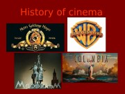 History of cinema  The first cinema show