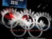 History Of The Olympic Games  Winter Olympic