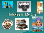 Hobbies In My Life  Looking