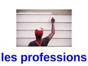 les professions  une serveuse  un biologiste