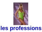 les professions  un clown  une ballerine