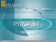 1  Pro. CAST Hpdc filling  2