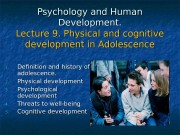 Презентация human dvelopment lecture 9