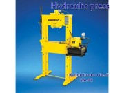 A hydraulic is a machine (see machine press)