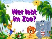 In den Zoo gehen wir,  Viele