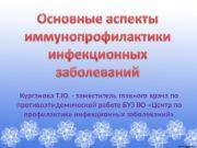 Курганова Т. Ю. — заместитель главного врача по