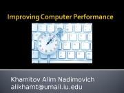 Khamitov Alim Nadimovich alikhamt@umail. iu. edu  Number