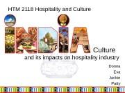 Culture    a nd its impacts
