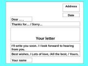 Презентация informal letter11