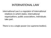Презентация intern law 1