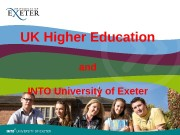 UK Higher Education and INTO University of Exeter