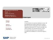 © 2010 SAP AGНавигация Аннотация Этот курс объясняет