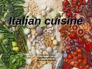 Presnyakov Nikita Mokrinskaya Dasha Paramonova Ekaterina. Italian cuisine