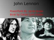 John Lennon Power. Point By Jacob lavoie Book