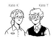 Kate K     Kate T