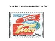 Labour Day (1 May) International Workers' Day
