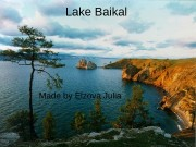Lake Baikal Made by Elzova Julia