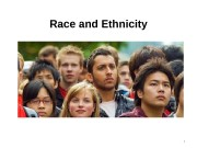 Race and Ethnicity 1  Learning Objectives 2