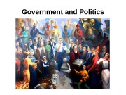 Government and Politics 1  Learning Objectives 2