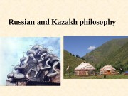 Russian and Kazakh philosophy  Russian philosophy