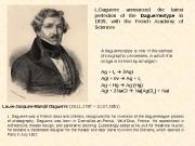 Louis-Jacques-Mandé Daguerre  (18. 11. 1787 – 10.