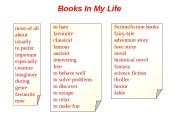 Презентация Лексика по теме Books in My Life