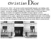 Christian Dior SA est une société à portefeuille