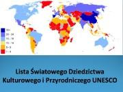 Co zawiera lista UNESCO?  Na listę wpisane