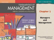 Презентация managers and management