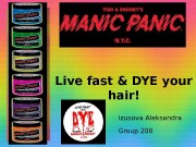 Live fast & DYE your hair! Izusova Aleksandra
