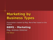 Презентация marketing-by-business-types1