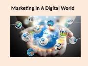 Презентация marketing concept and environment addition 1