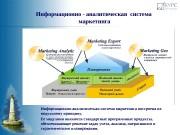 Информационно-аналитическая система маркетинга построена по модульному принципу.