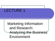 Презентация marketing research process int