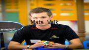 Mats Valk Cпидкубер высшего уровня  Mats Valk