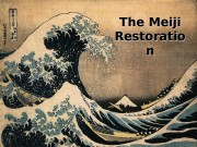 Презентация meiji restoration version
