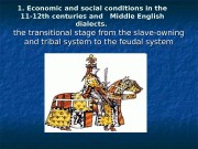1. Economic and social conditions in the 11