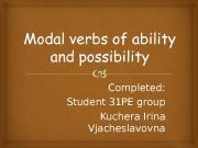 Completed: Student 31 PE group Kuchera Irina Vjacheslavovna