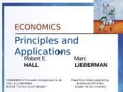 Презентация models in economics