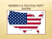 The modern political party system in the