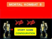 MORTAL KOMBAT 8 START GAME CONFIGURATION  PLEY