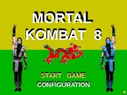 MORTAL  KOMBAT 8 START  GAME CONFIGURATION