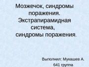 Презентация Мукашев А. 641 группа