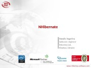 NHibernate Natalie Vegerina Software engineer Infostroy Ltd,