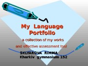 My Language Portfolio   a collection of