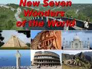 New Seven Wonders of the World  New