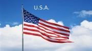 U. S. A.  Карта С. Ш. А.