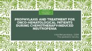 PROPHYLAXIS AND TREATMENT FOR ONCO-HEMATOLOGICAL PATIENTS DURING CHEMOTHERAPY-INDUCED